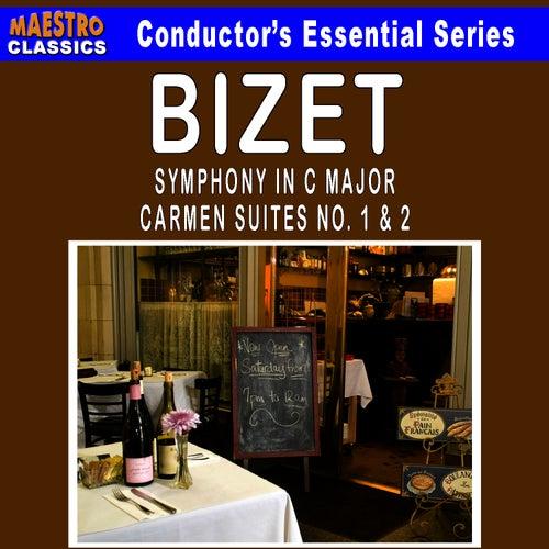 Bizet: Symphony in C Major - Carmen Suites No. 1 & 2 by Ljubljana Symphony Orchestra