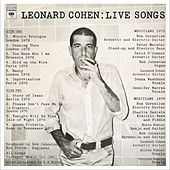 Live Songs by Leonard Cohen