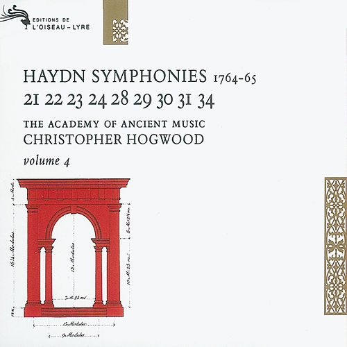 Haydn: Symphonies Vol.4 von The Academy Of Ancient Music