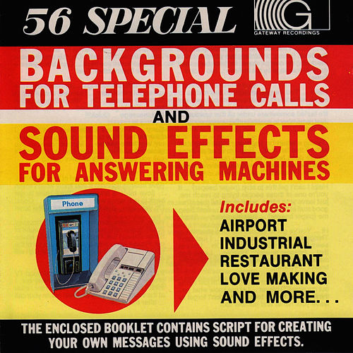 56 Special Backgrounds For Telephone Call by Sound Effects