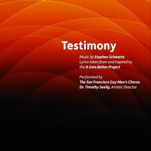 Testimony by San Francisco Gay Men's Chorus