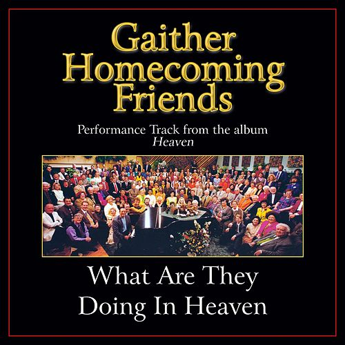 What Are They Doing in Heaven Performance Tracks by Various Artists