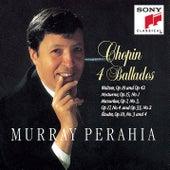 Ballades; Waltzes Op.18 & 42; Nocturne, Op.15 No.1; Mazurkas Op.7 No.3, Op.17 No.4, Op.33 No.2; Etudes Op.10 Nos.3 & 4 by Murray Perahia