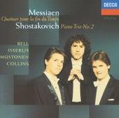Messiaen: Quatuor pour le fin du temps / Shostakovich: Piano Trio No.2 von Olli Mustonen