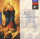 Bach, JS/Bach, CPE: Magnificats/Scarlatti: Messa di Santa Cecilia von Various Artists