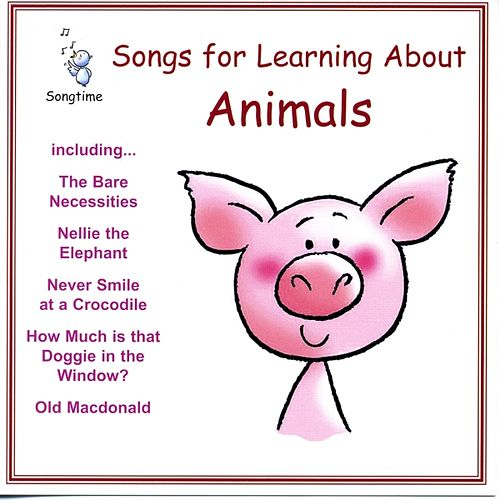 Songs for Learning About Animals by Kidzone