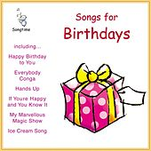 Songs for Birthdays by Kidzone