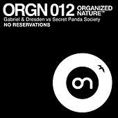 No Reservations by Gabriel & Dresden