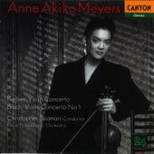 Barber: Violin Concerto  - Bruch: Violin Concerto No. 1 by Anne Akiko Meyers