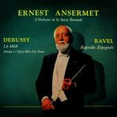 Debussy: La Mer/Ravel: Rapsodie Espagnole by L'Orchestre de la Suisse Romande