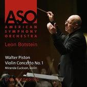Piston: Violin Concerto No. 1 by American Symphony Orchestra