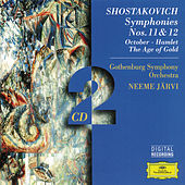 Shostakovich: Symphonies Nos. 11 & 12; October; Hamlet; The Age of Gold von Göteborgs Symfoniker