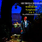 Schubert Symphonies 3 & 5 by Royal Philharmonic Orchestra