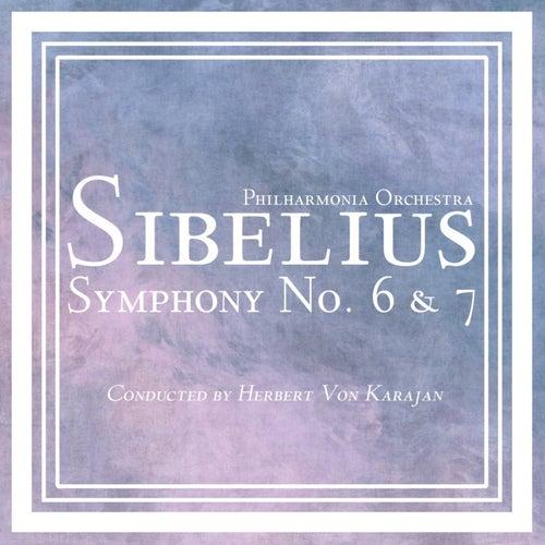 Sibelius Symphony No 6 & 7 by Philharmonia Orchestra