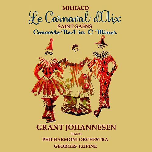 Le Carnaval D'Aix & Concerto No. 4 In C-Minor, Op. 44 by Philharmonia Orchestra