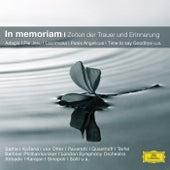 In memoriam - Zeiten der Trauer und Erinnerung von Various Artists