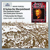 Purcell: The Harpsichord Suites; 2 Voluntaries von Various Artists