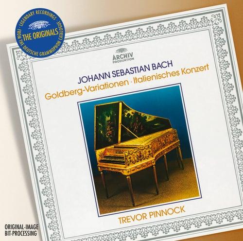 Bach: Goldberg Variations; Italian Concerto von Trevor Pinnock