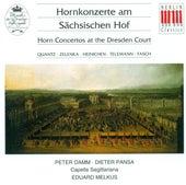 Quantz, Zelenka, Heinichen, Telemann & Fasch: Horn Concertos at the Dresden Court by Various Artists