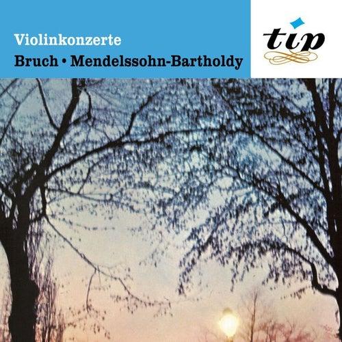 Violinkonzert (Max Bruch): Nr. 1 g-moll op. 26; Violinkonzert (Felix Mendelssohn-Bartholdy): e-moll op.64 by Wilhelm Melcher