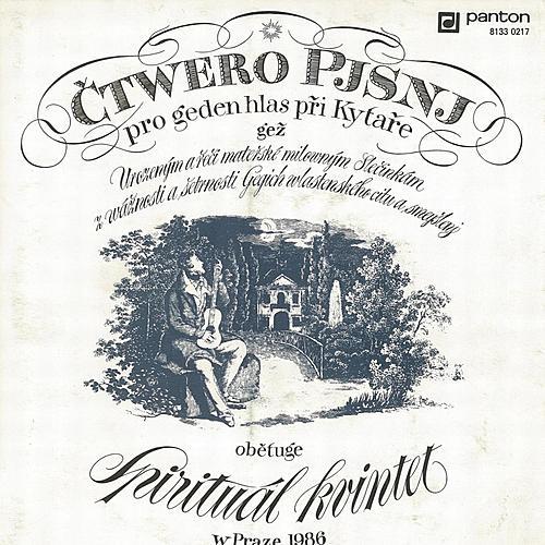 Čtwero pjsnj by Spirituál Kvintet