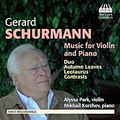 Schurmann: Music for Violin and Piano by Various Artists