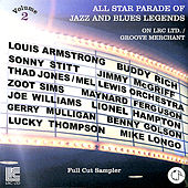 All Star Parade of Jazz and Blues Legends on LRC Ltd. / Groove Merchant - Full Cut Sampler, Vol. 2 by Various Artists