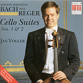 Bach: Cello Suites Nos. 1 and 2 / Reger: Cello Suites, Op. 131c, Nos. 1 and 2 by Jan Vogler