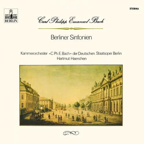 BACH, C.P.E.: Sinfonias - Wq. 174, 175, 178, 179, 181 (Carl Philipp Emanuel Bach Chamber Orchestra, Haenchen) by Hartmut Haenchen, Carl Philipp Emanuel Bach Chamber Orchestra, Klaus Kirbach
