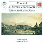 Baroque Concertos - Georg Philipp Telemann/Johann Joachim Quantz / Antonio Vivaldi / Jan Dismas Zelenka (Guttler) by Various Artists