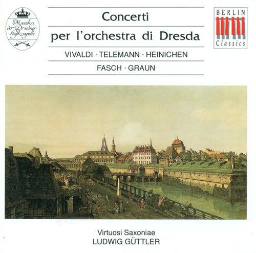 Concertos - Vivaldi / Telemann / Fasch / Graun by Virtuosi Saxoniae