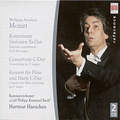 Wolfgang Amadeus Mozart: Sinfonia concertantes, K. 297b and 364 / Concerto for Flute and Harp / Concertone, K. 190 by Hartmut Haenchen