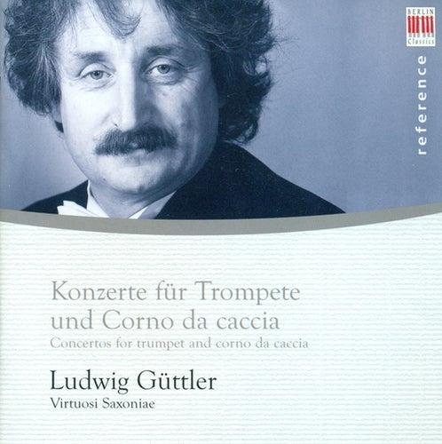 Trumpet and Horn Recital: Guttler, Ludwig - Georg Friedrich Händel / Johann Melchior Molter / Johann Wilhelm Hertel / Johann Valentin Rathgeber / Johannes ... - 500x500