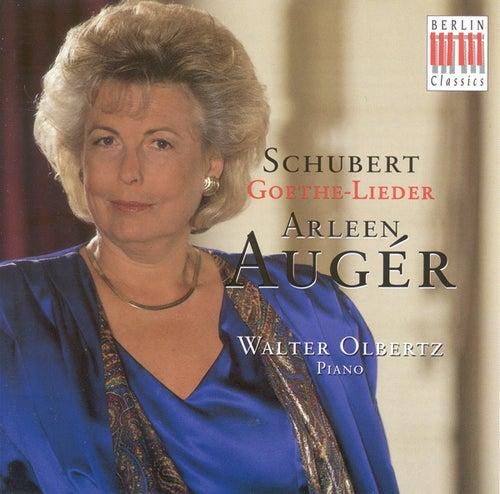 SCHUBERT, F.: Goethe-Lieder (Auger, Olbertz) by Walter Olbertz Arleen Auger