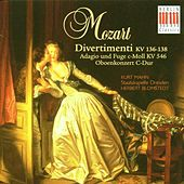 Mozart: Divertimenti, K. 136-138, Oboe Concerto in C Major & Adagio and Fugue in C Minor KV 546 by Various Artists