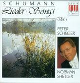SCHUMANN, R.: Lieder, Vol. 1 - Opp. 24, 25, 48, 53, 127, 142 (Schreier, Shetler) von Peter Schreier