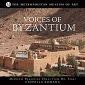 Mt. Sinai: Frontier of Byzantium (Voices of Byzantium: Medieval Byzantine Chant from Mt. Sinai) by Cappella Romana