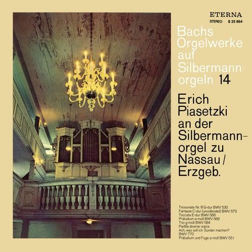 BACH, J.S.: Organ Music on Silbermann Organs, Vol. 9 - BWV 530, 551, 566, 569, 573, 584, 770 (Piasetzki) by Erich Piasetzki