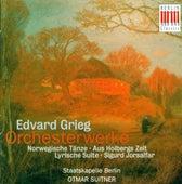 GRIEG, E.: Orchestral Music - Opp. 56, 54, 35, 40 (Berlin Staatskapelle, Suitner) by Staatskapelle Berlin