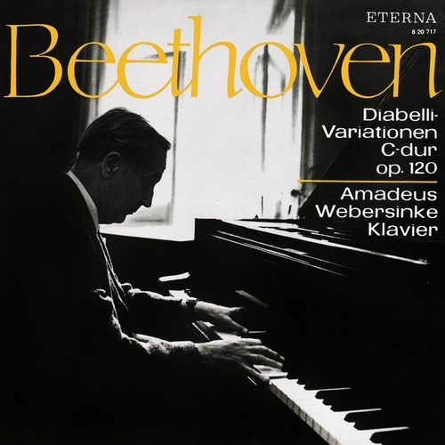 BEETHOVEN, L. van: Diabelli Variations (Webersinke) by Amadeus Webersinke
