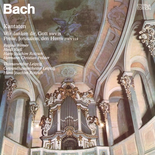 Bach: Cantatas - BWV 29, 119 by Various Artists