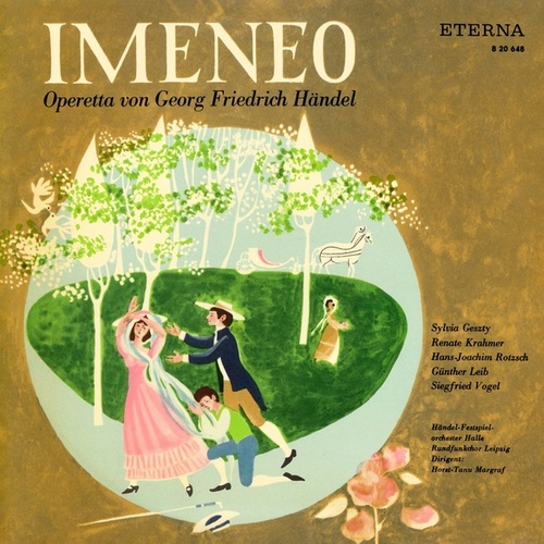 Händel: Imeneo (Sung in German) [Opera] by Various Artists