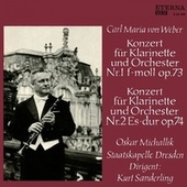 Von Weber: Clarinet Concertos Nos. 1 and 2 by Various Artists