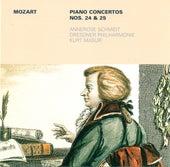 MOZART, W.A.: Piano Concertos Nos. 24 and 25 (Schmidt, Dresden Philharmonic, Masur) by Kurt Masur