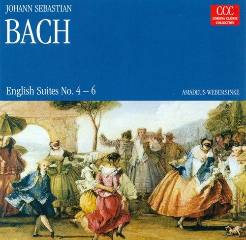 Johann Sebastian Bach.: English Suites Nos. 4-6 (Webersinke) by Amadeus Webersinke