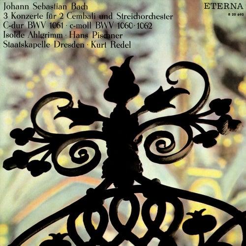 Johann Sebastian Bach: Concertos for 2 Keyboards - BWV 1060-1062 by Dresden Staatskapelle, Kurt Redel, Hans Pischner, Isolde Ahlgrimm