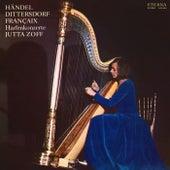 Händel, Dittersdorf & Françaix: Harp Concertos by Heinz Rögner Jutta Zoff
