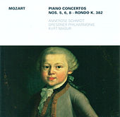 Mozart: Piano Concertos Nos. 5, 6, 8 & Rondo, KV 382 by Various Artists