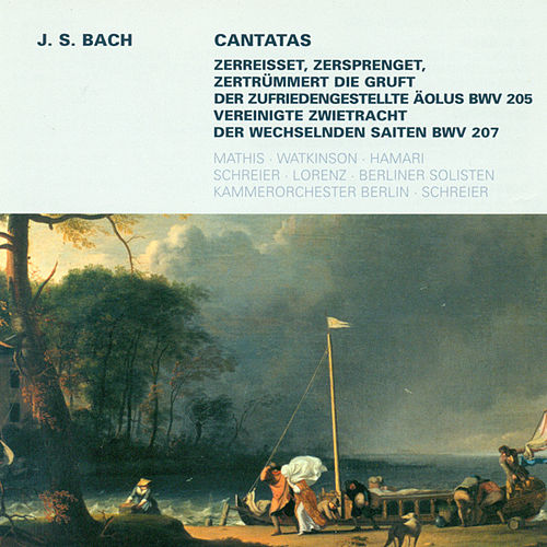 Bach: Cantatas - BWV 205, 207 by Various Artists