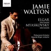 Elgar & Myaskovsky Cello Concertos by Jamie Walton
